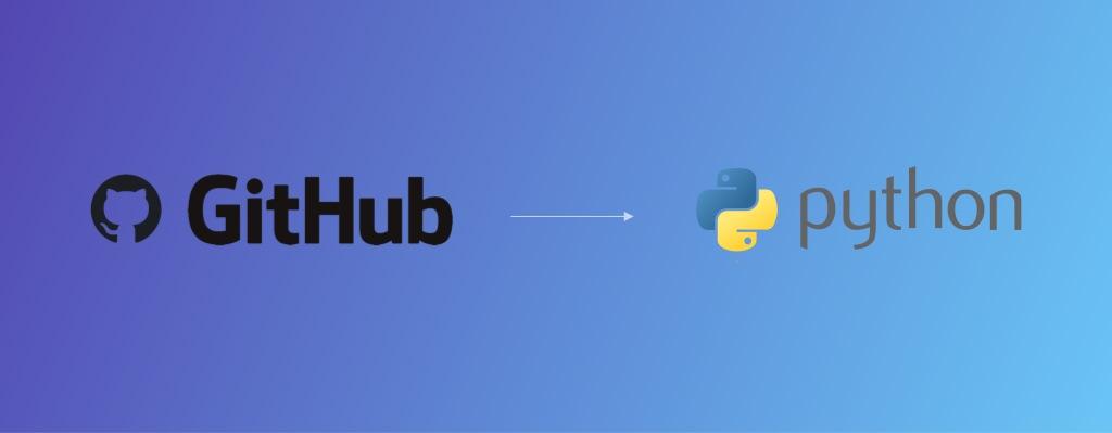 Github to Python